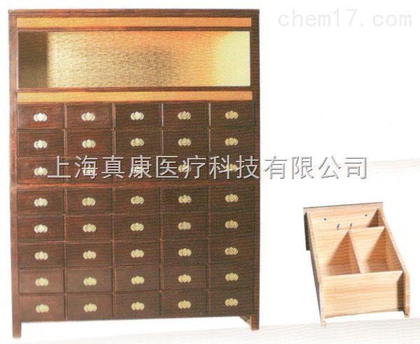 药房实木中药柜10