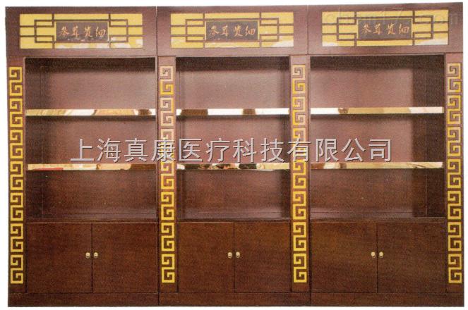 药房参茸展示柜台3