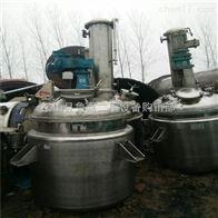 3000L9成新二手不锈钢反应釜回收拆除