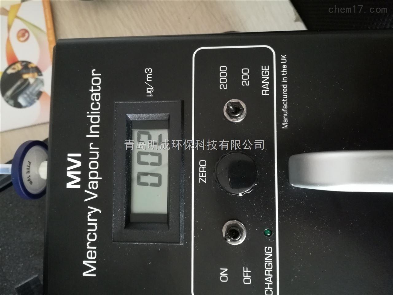 双光束检测英离子MVI汞蒸汽检测仪