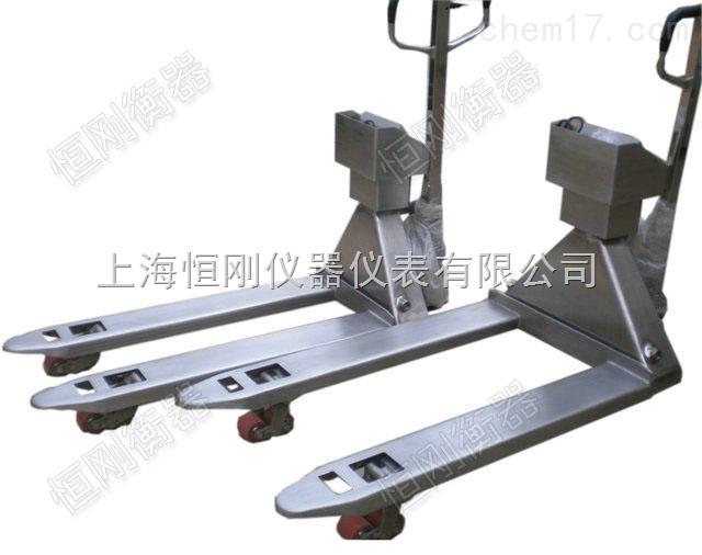 手动控制地牛叉车秤,工厂叉车拖车电子秤