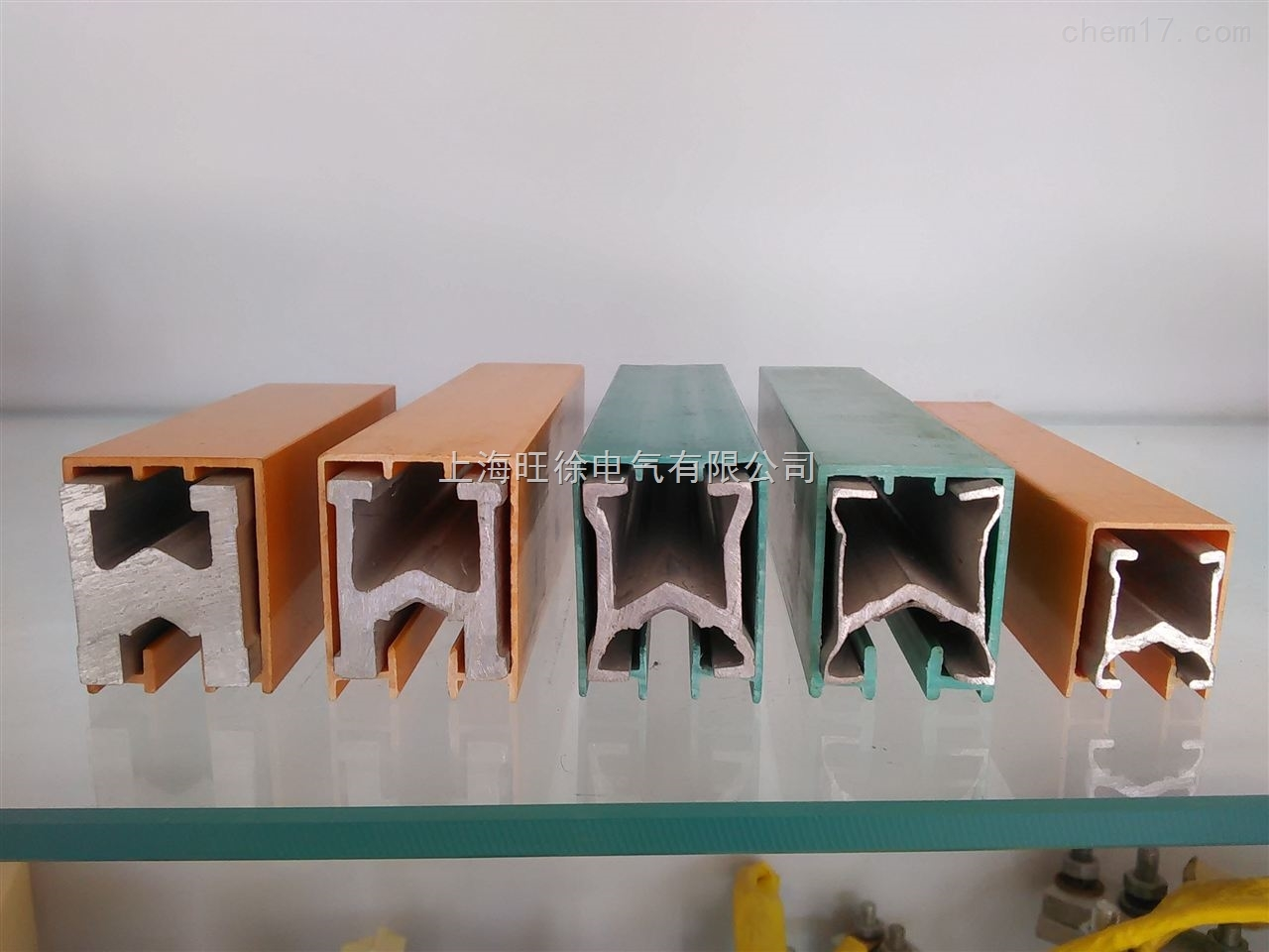 HXPnR-U12单极组合式滑触线 滑线导轨