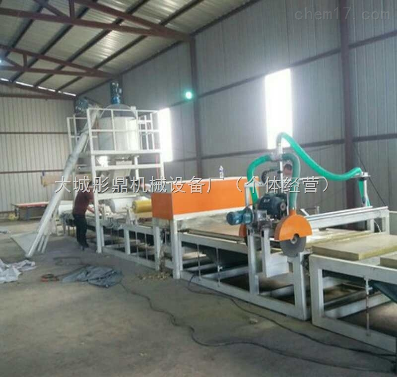 水泥岩棉砂浆复合板设备生产出的板材介绍