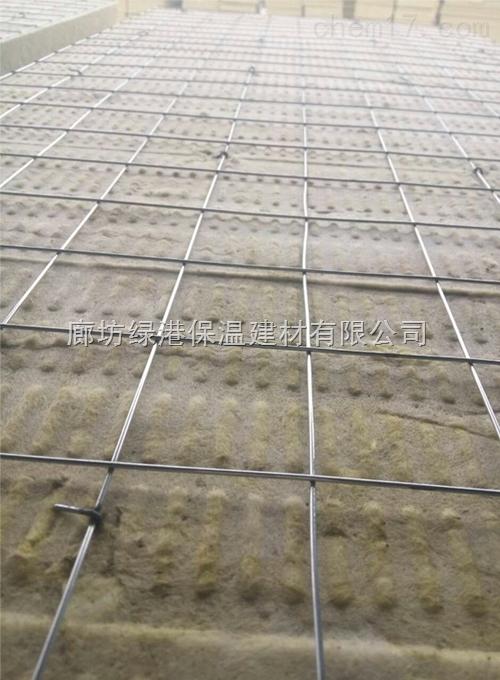 建筑插丝岩棉板批发