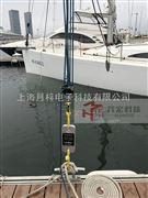 2吨数显测力计桅杆倾斜测试