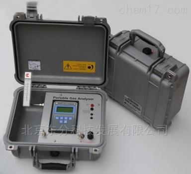 便携式气体分析仪。
