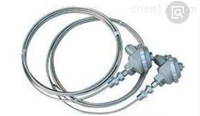 k型铠装热电偶 接线盒式 pt100铂电阻