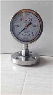 上海仪表四厂不锈钢隔膜压力表