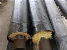 型号齐全西藏钢套钢保温管公司施工报道