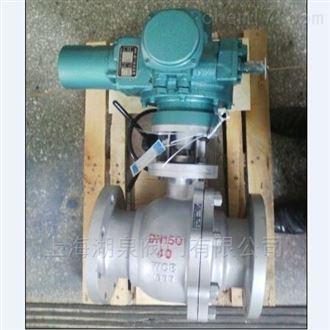 电动法兰型铸钢球阀