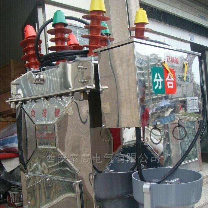 吉林10kv高压真空断路器不锈钢带隔离现货
