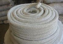 齐全耐高温陶瓷纤维绳盘根玻璃丝加强陶瓷浅维绳