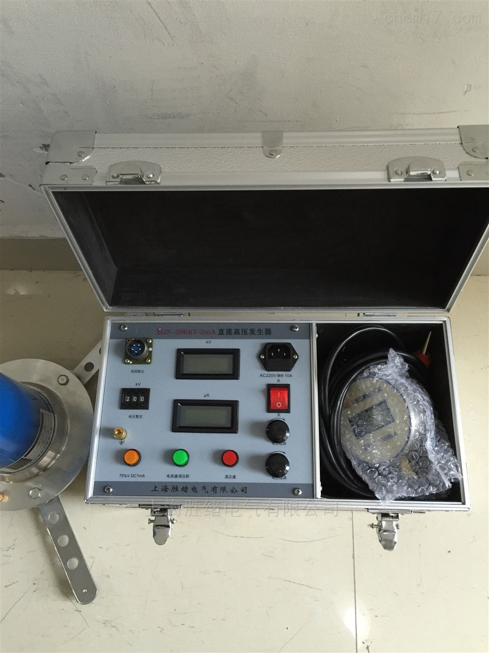 (分体式)200KVA/2mA直流高压发生器