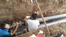 型号齐全热源管道聚氨酯直埋保温管施工