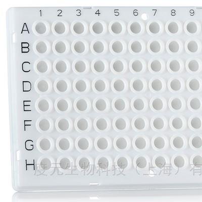 4ti-0955白色96孔PCR板適配羅氏PCR儀