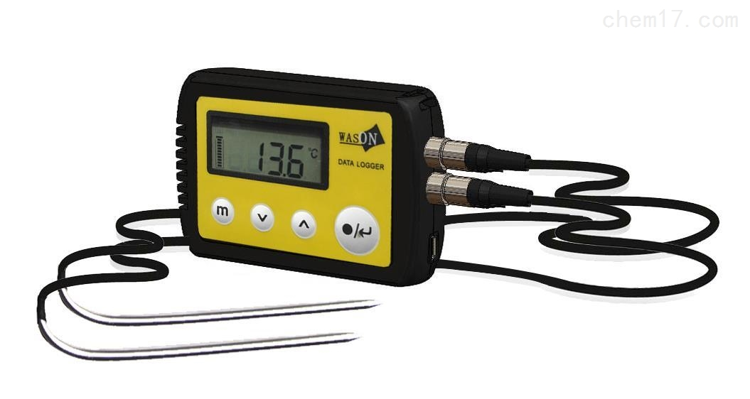 雙通道中心溫度記錄儀