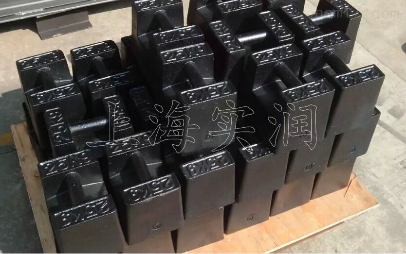 25公斤砝码哪家便宜?M2级铸铁25KG砝码
