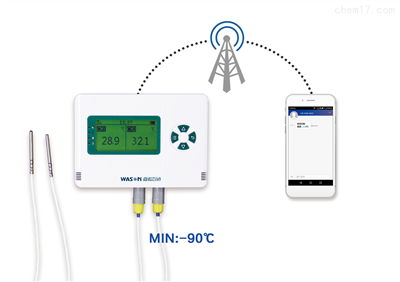 WS-T21LG-C短信報警低溫溫度記錄儀
