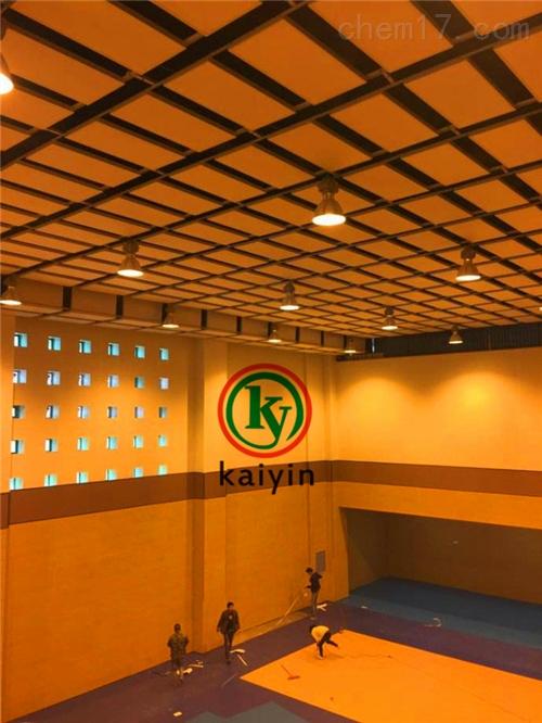 体育馆悬挂吊顶吸音体材料厂家