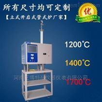 TN-G1600L立式开启式管式炉厂家