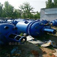 长期出售二手5立方搪瓷电加热反应釜回收