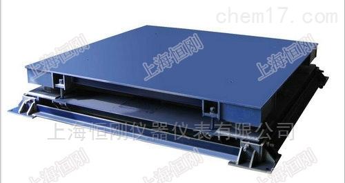 负载保护钢材缓冲地磅秤 抗缓冲钢卷磅称