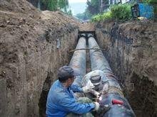 DN400直埋式预制保温管供热管网的施工原则
