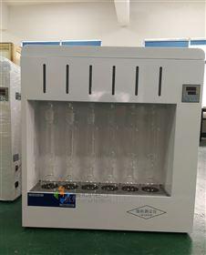 甘肃6联索氏提取装置JT-SXT-06脂肪测定仪