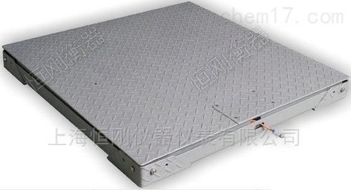 不锈钢双层电子地磅,碳钢可拆洗地磅秤