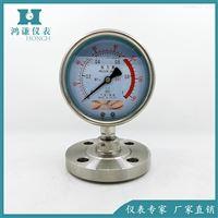 YTPN-100BF不锈钢隔膜耐震压力表