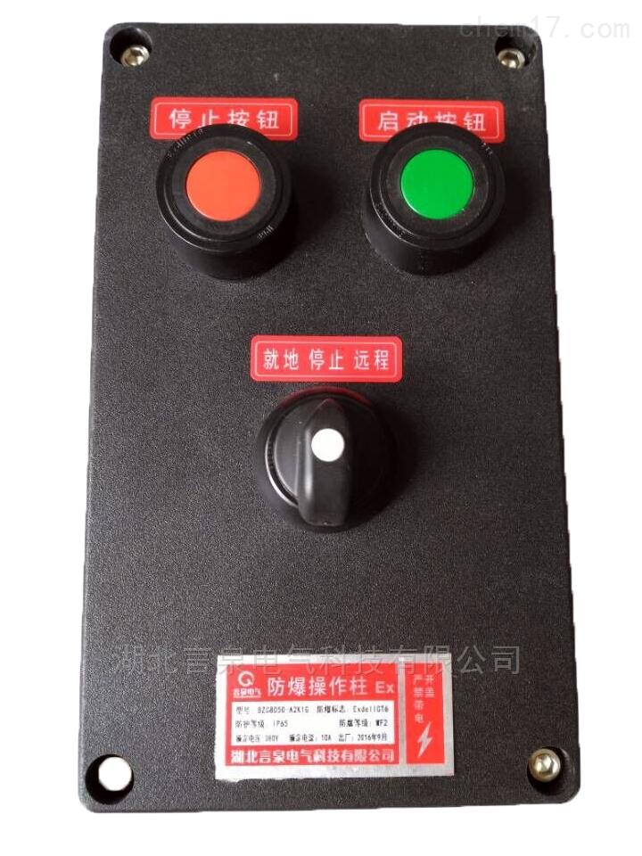 武汉LCZ8030-A2K1G挂式立式户外防水操作箱