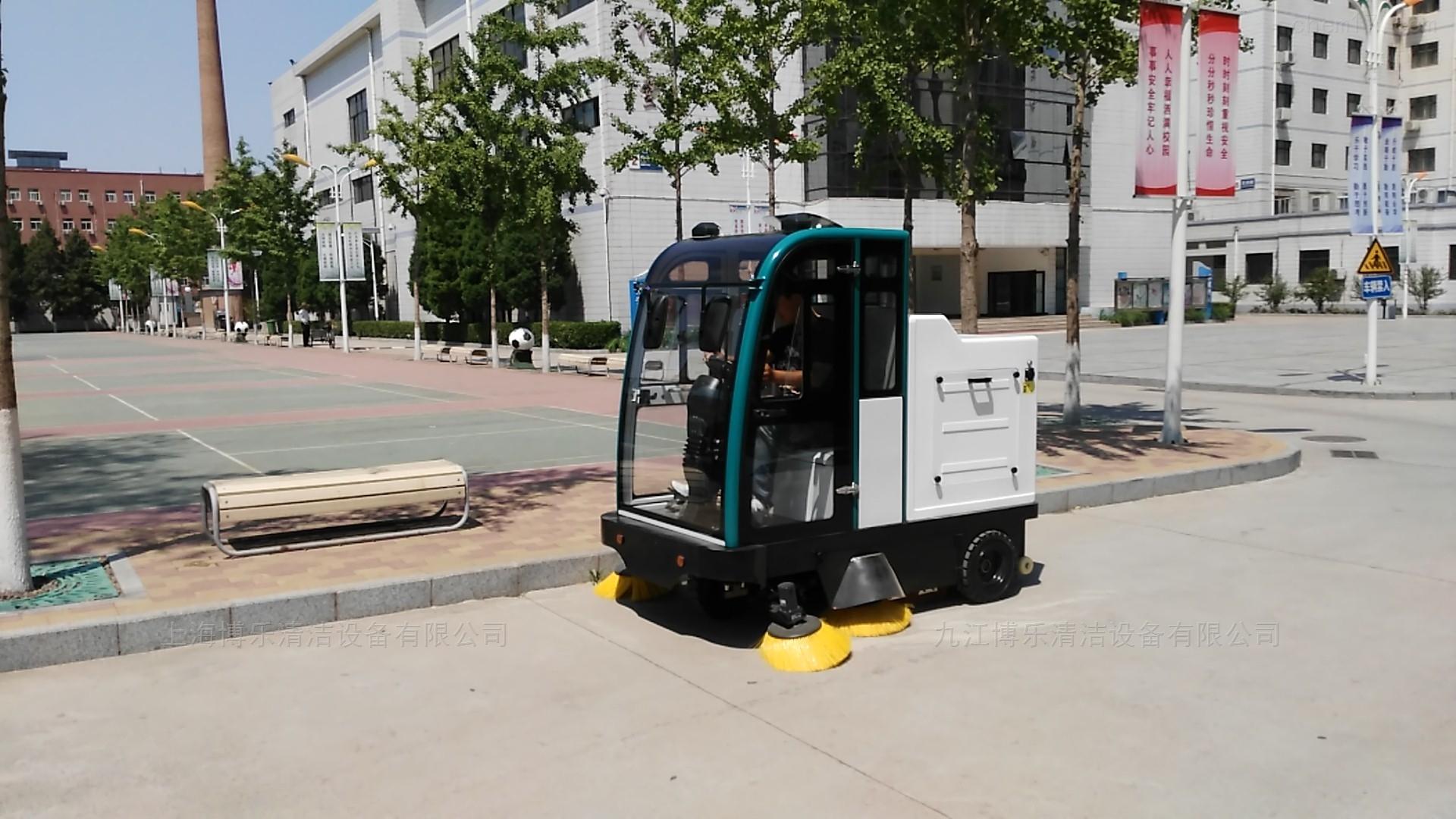 大型工廠廠區用駕駛式掃地車價格