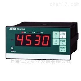 日本进口AD-4530继电器输出RS232通讯显示器