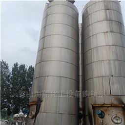 出售闲置二手100吨不锈钢储罐价格优惠