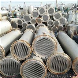厂家供应二手40平方不锈钢石墨冷凝器