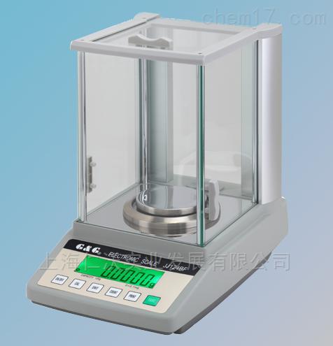 双杰JJ124BF/120g/0.1mg全自动内校分析天平