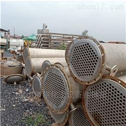 长期低价转让回收二手50平方不锈钢冷凝器