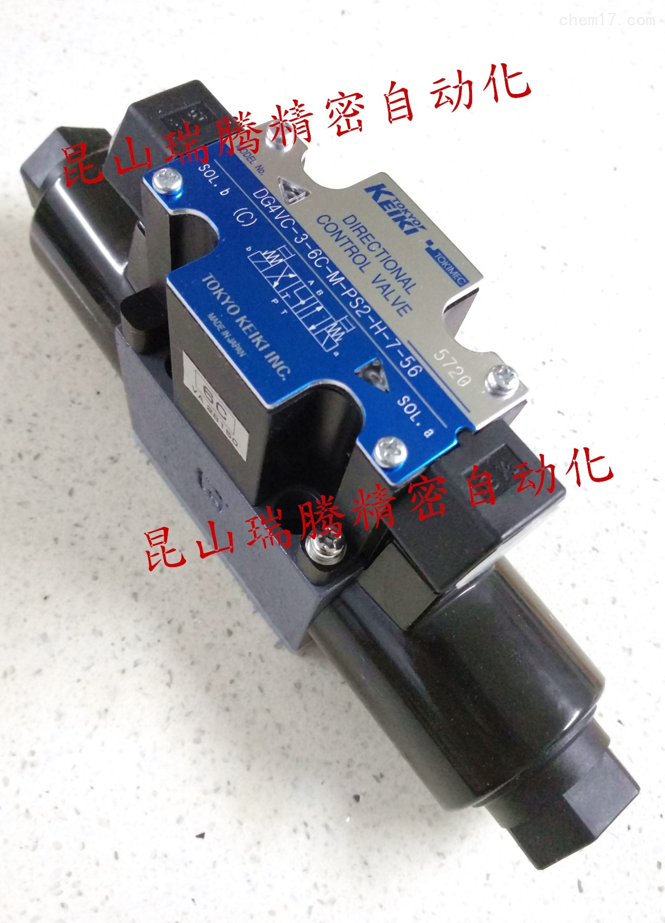 DG4VC-3-6C-M-PS2-H-7-56 TOKYOKEIKI电磁阀