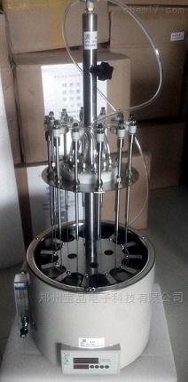 YGC-24D圆形氮吹仪,24孔水浴氮气吹干仪