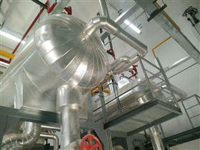 岩棉铝皮保温管道保温施工现场检查