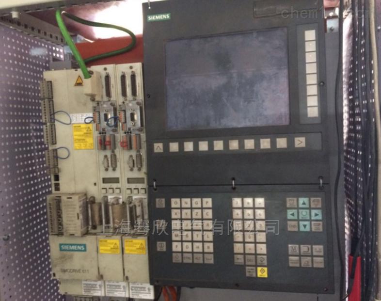 西门子机床系统黑屏及启动开关坏维修