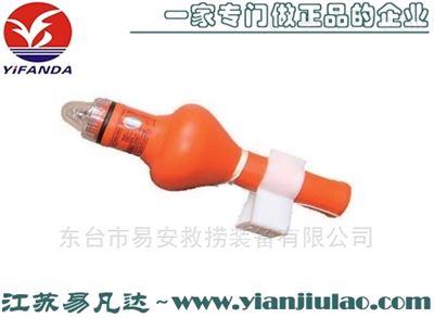 频闪QDL2-2G海水电池救生圈自亮浮灯CCS