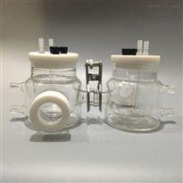 H型可换膜水浴控温光谱电解池