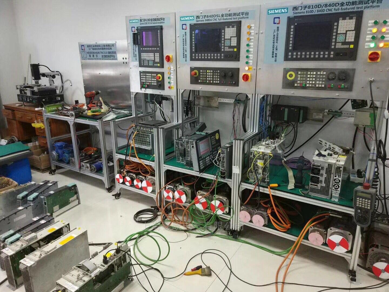 西门子加工中心报230001和230021故障维修