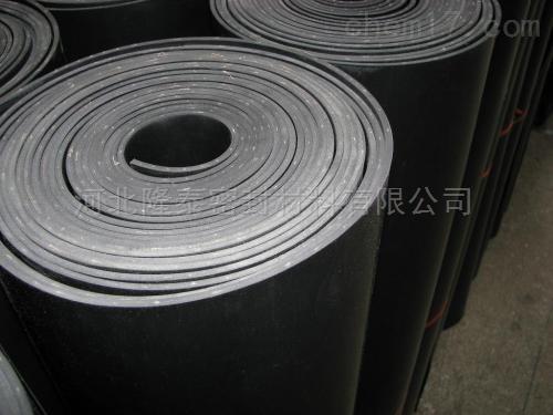 耐油防静电3mm黑色普通橡胶板报价