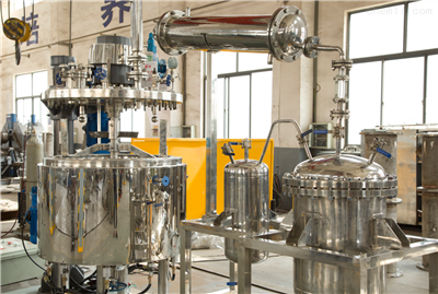 100L减压蒸馏反应釜 减压蒸馏系统 实验室反应釜