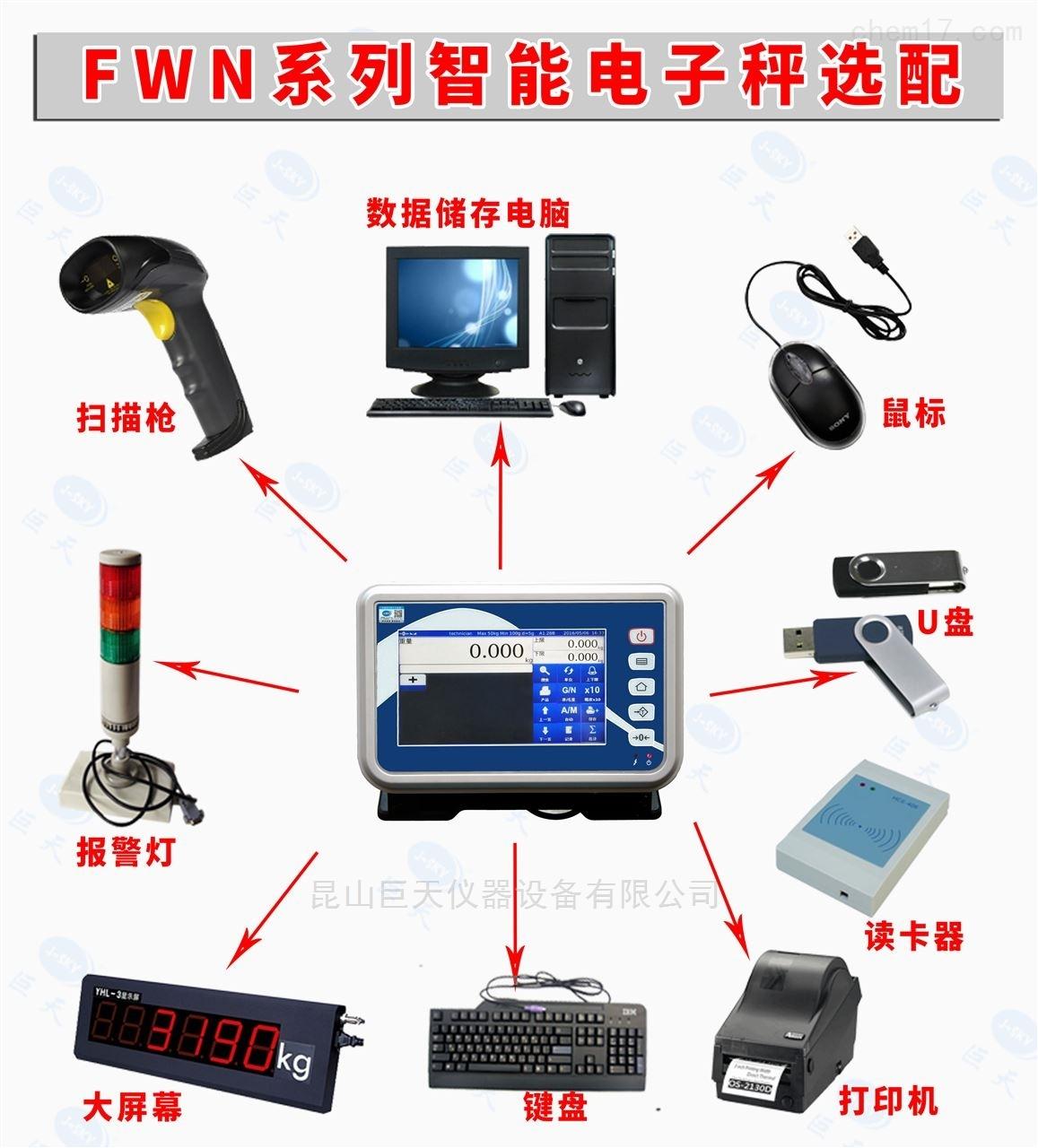 可外接三色报警功能称重显示器多少钱