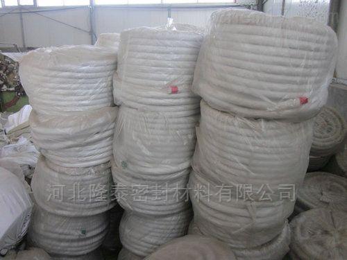 白色牛油盘根 石棉盘根 耐高温陶瓷纤维盘根