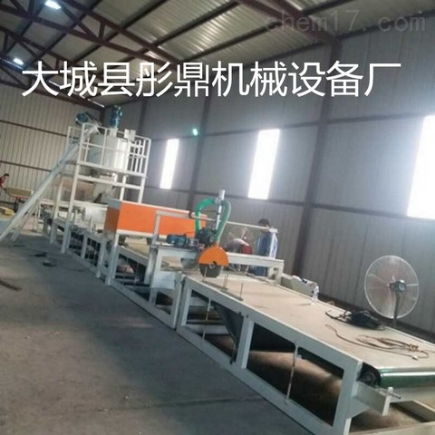 岩棉砂浆复合板设备生产线厂家价格介绍