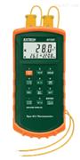 美国EXTECH 421502带报警J/K型双输入温度计